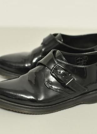 Туфлі туфли dr.martens core miller patent leather flat shoe - 39
