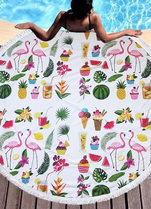 Модный пляжный коврик sport line - №5510