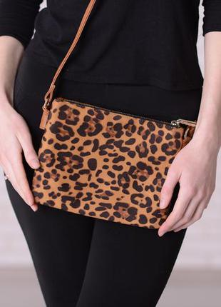 92ab5ccc272e Леопардовый клатч pull&bear Pull&Bear, цена - 200 грн, #5601724 ...