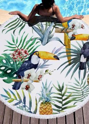 Пляжный коврик птицы sport line - №6055
