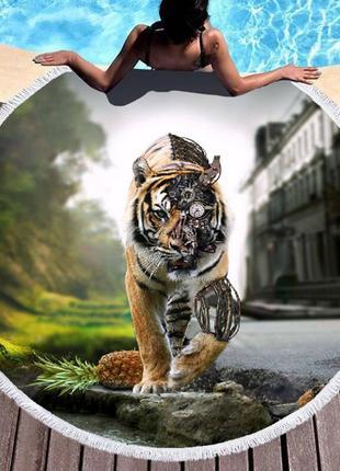 Коврик тигр sport line - №6059