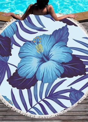 Пляжное покрывало цветы sport line - №6066