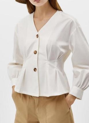 Актуальная блуза bershka
