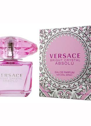 Versace bright crystal absolu 90 ml. женская парфюмированная вода