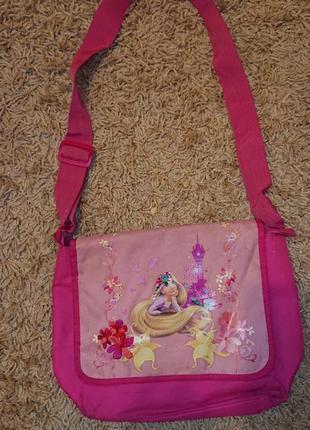 Детская сумка рапунцель через плече