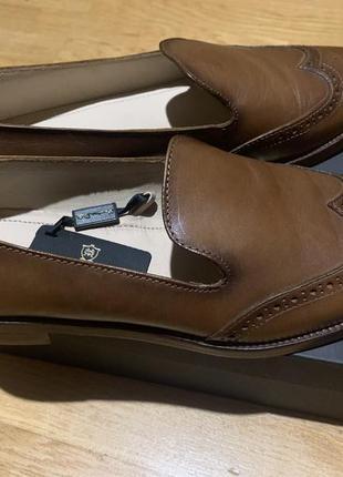 Кожаные туфли massimo dutti
