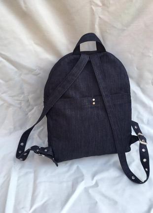 Джинсовый рюкзак2 фото
