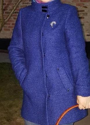 Стильное красивое пальто lisatti букле 48, 50, 52 р. .