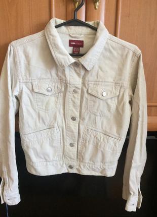 Вельветовая курточка от h&m