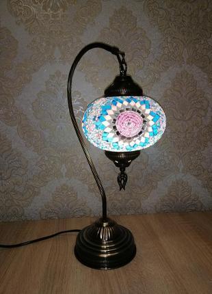 Дизайнерская лампа ночник светильник в восточном стиле