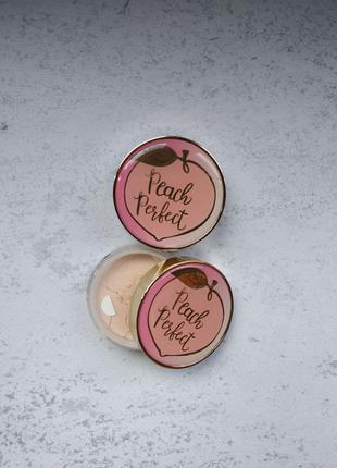 Пудра too faced peach perfect mattifying setting powder