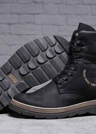 Мужские ботинки зима diesel modern  арт.31491