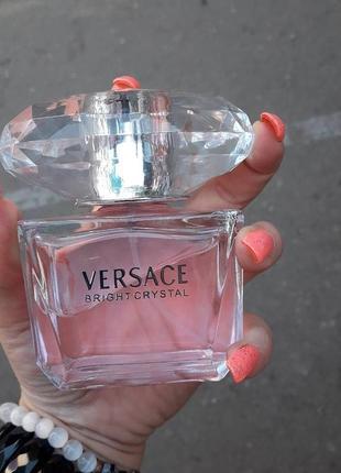 Versace bright crystal туалетная вода, тестер