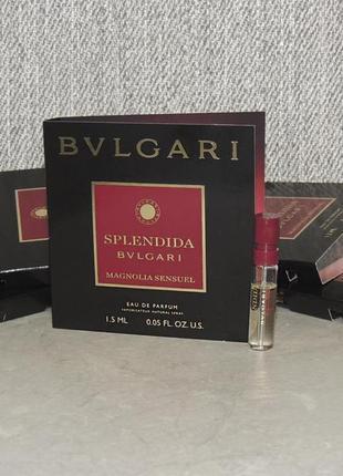 Bvlgari magnolia sensuel пробник для женщин оригинал