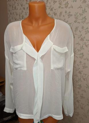 Блуза нежная