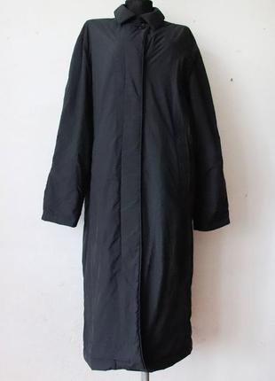 Пальто плащ uniqlo тонкий синтепон