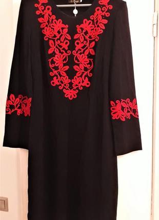 Сукня нова, з біркою, шерсть-віскоза-поліестр