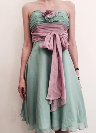 Шелковое платье betsey johnson