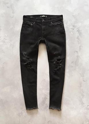 Рвані джинси hollister