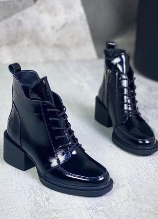 Рр 36-41 осень(зима) натуральная кожа ботинки