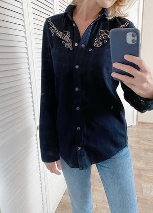 Рубашка джинсовая от  topshop