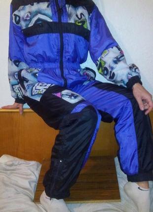 Лыжный зимний комбинезон рост 164