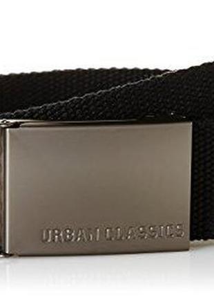 Пояс urban classics чорний новий ремінь