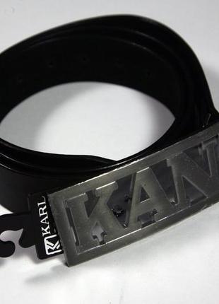 Пояс karl kani чорний новий ремінь