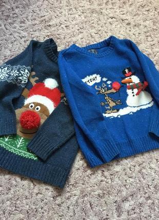 Теплые свитера некст для юного модника