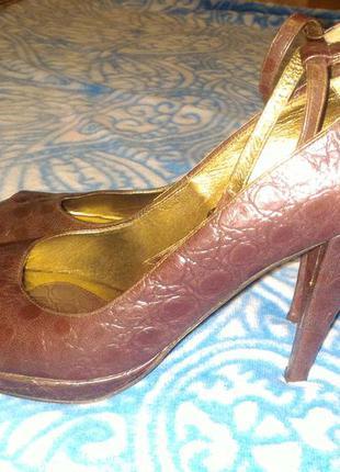 Кожаные туфли stefani