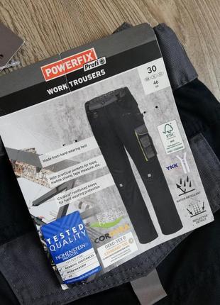 Мужские рабочие штаны powerfix германия размер 46