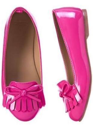 Лаковые туфельки gymboree р. 1