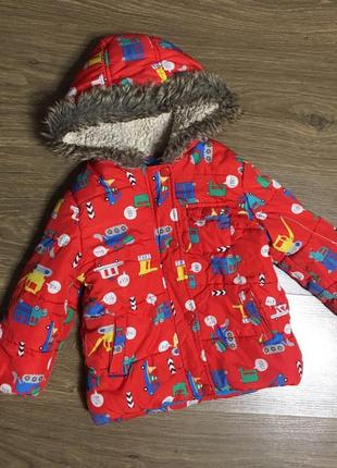 Демисезонная куртка mothercare