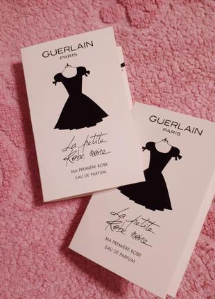 Пробник парфюмированной воды 1мл guerlain la petite robe noir eau de parfum новый оригинал