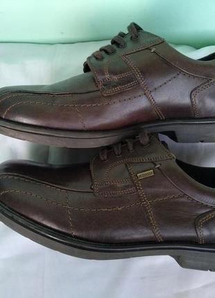 """Туфли кожаные демисезон, зимние """"claudio conti"""" оригинал, мембрана разм.42 мужские"""
