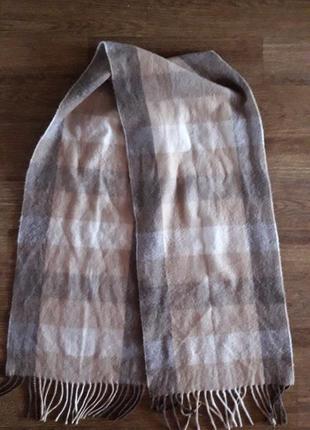 Шикарный кашемировый шарф lochmere