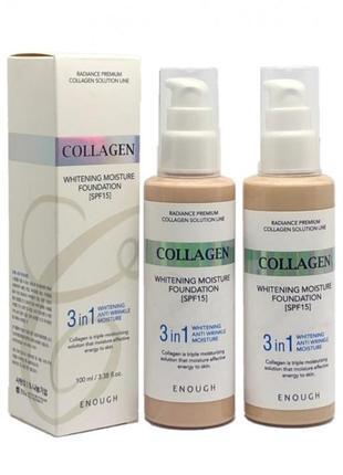 Тональный крем collagen enough