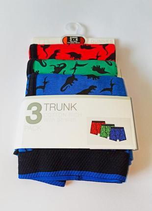 Трусики-боксерки, 3 шт. в уп., dunnes, англия. размер 3-4 года
