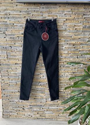 Сіро-чорні джинси великих розмірів