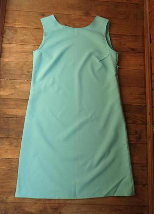 Летнее мятное (голубое, бирюзовое) платья футляр р. s, m, l есть другие цвета