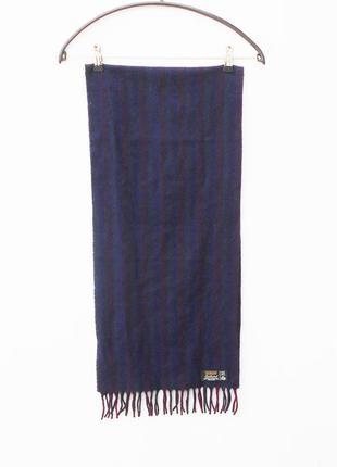 Шерстяной классический шарф sammy англия2 фото
