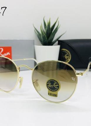 Солнцезащитные очки rayban линза минеральное стекло