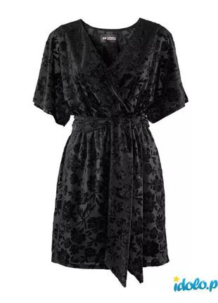 Платье с набивным бархатным рисунком conscious collection походит на s