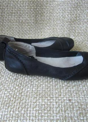 Hush puppies р.40 балетки туфлі лодочки шкіра