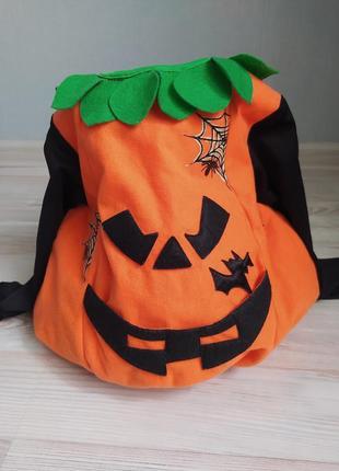 Крутой карнавальный костюм на хеллоуин halloween/новый год тыква 3d🙃с наполнителем