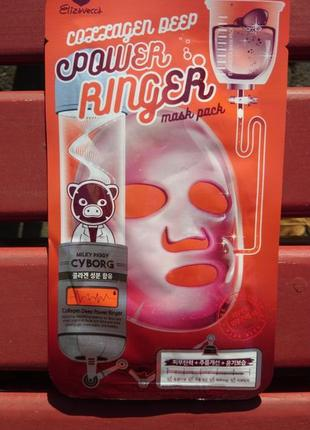 Elizavecca collagen deep power ringer mask pack