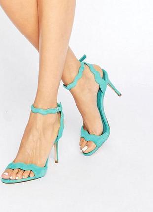 Босоножки на каблуке asos carine