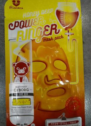 Elizavecca honey deep power ringer mask pack