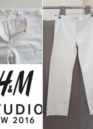 Очень классные белые джинсы h&m studio exclusive