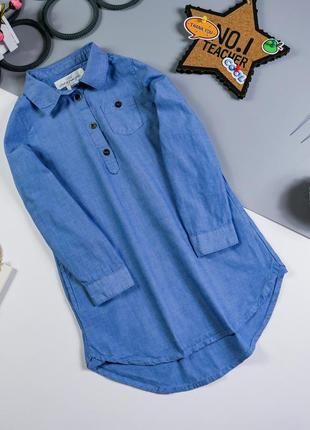 Рубашка-туника на 4-5 лет/110 см